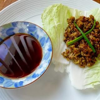 Nerissa & Jason's Pork Dumplings + Cabbage Wraps