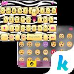 Zebra Emoji Kika KeyboardTheme Icon