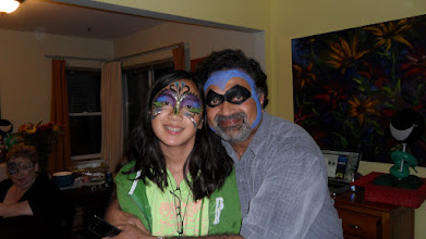 Photo: Fun Face Painting Masks By Paola Gallardo form http://www.BestPartyPlanner.net