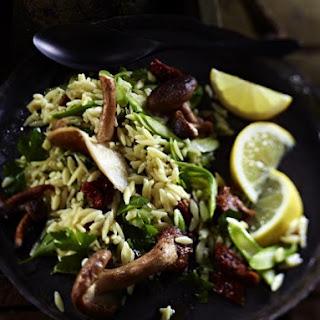 Pasta and Mushroom Salad.