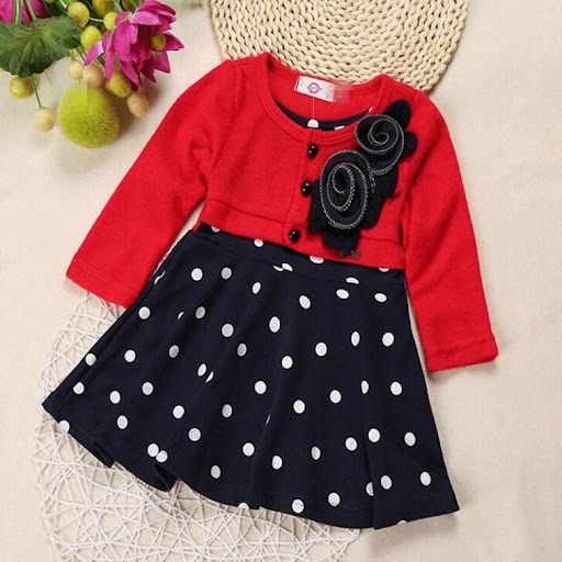 4de1bc927 Cute Baby Girl Frock Design APK download