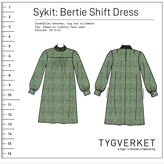 Sykit: Bertie Shift Dress + Nomad