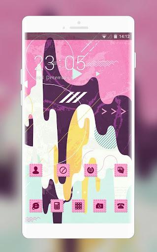 Pink Stylish Ice Cream Free Theme for Jio Phone 1.0.0 screenshots 1