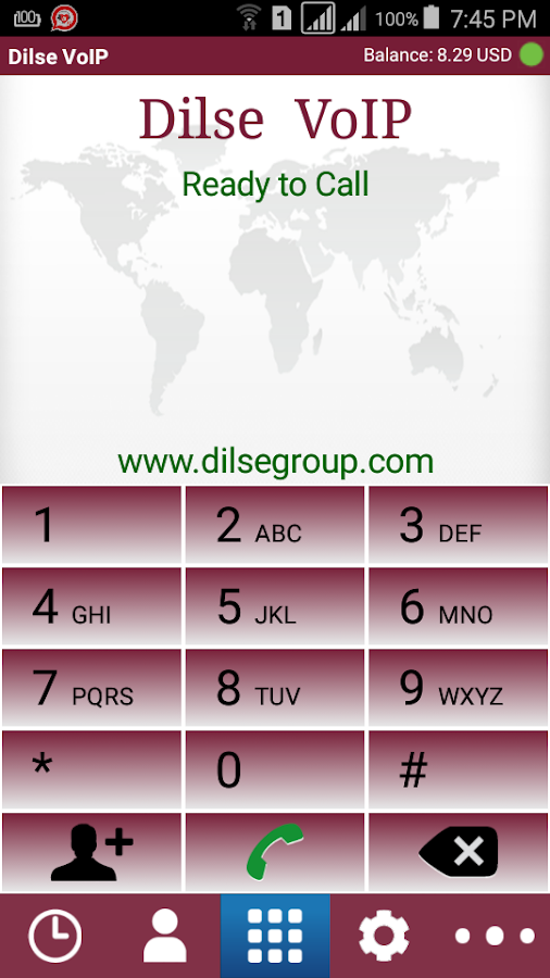 Dilse Voip  Latest Version- screenshot