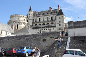 Photo: And step down from d'Amboise. Got to get to  Mont Saint-Michel same evening.
