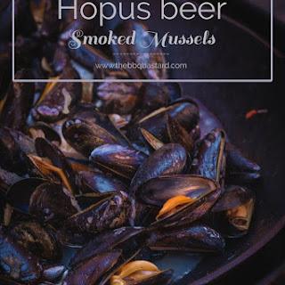 Hopus Beer steamed smoky mussels
