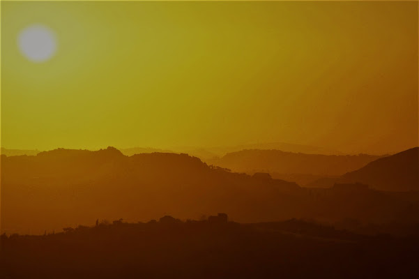 tramonto siciliano di Gero