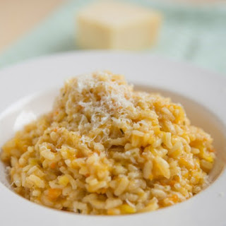 Chef Gordon Ramsay's Pumpkin And Pancetta Risotto.