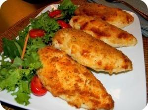 Parmesan Crusted Chicken Breast Recipe