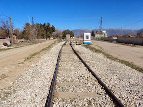 Fotoğraf: demiryolları hala yapılmamış