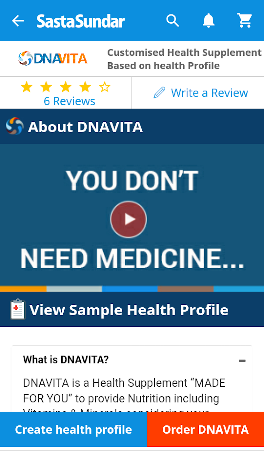 SastaSundar - Genuine Medicine App, Doctors Online- screenshot