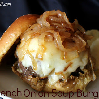 ~French Onion Soup Burger!.