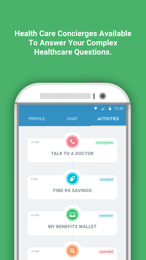 GoHealth Access- screenshot