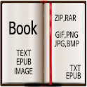 Book Reader(Image,Text Viewer) icon