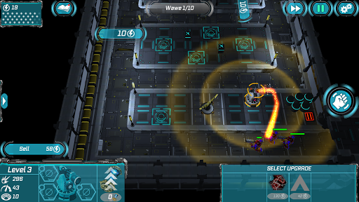 Sci Fi Tower Defense. Module TD 2  άμαξα προς μίσθωση screenshots 2