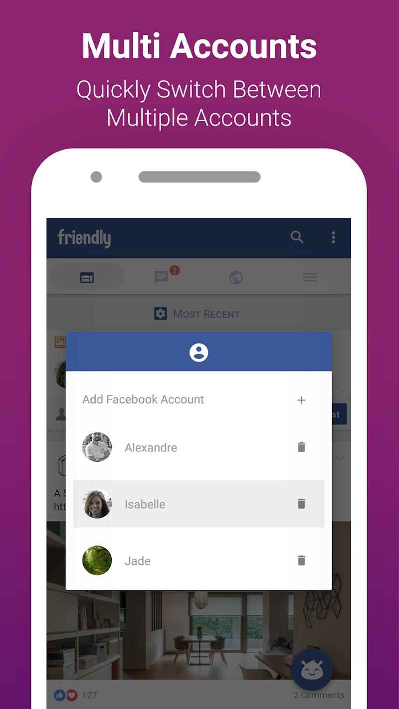 Friendly for Facebook Screenshot 4