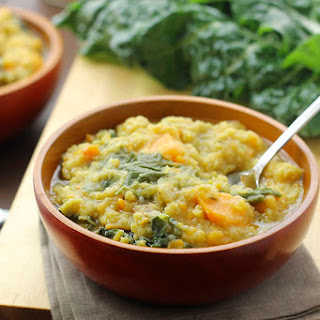 Hearty Lentil & Swiss Chard Soup