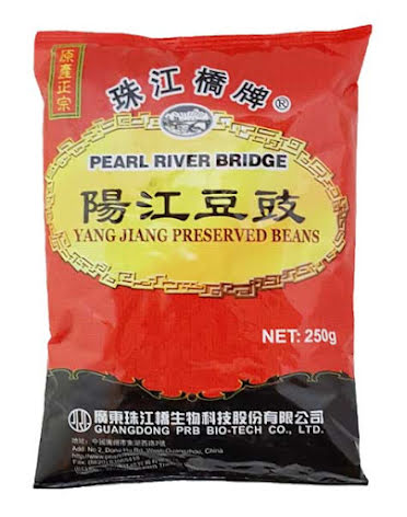 Preserved Black Beans 250g PRB