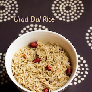 Urad Dal Rice Recipes