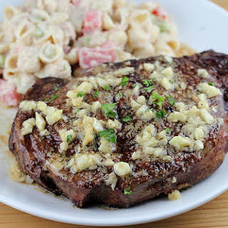 Garlic Butter Steak.