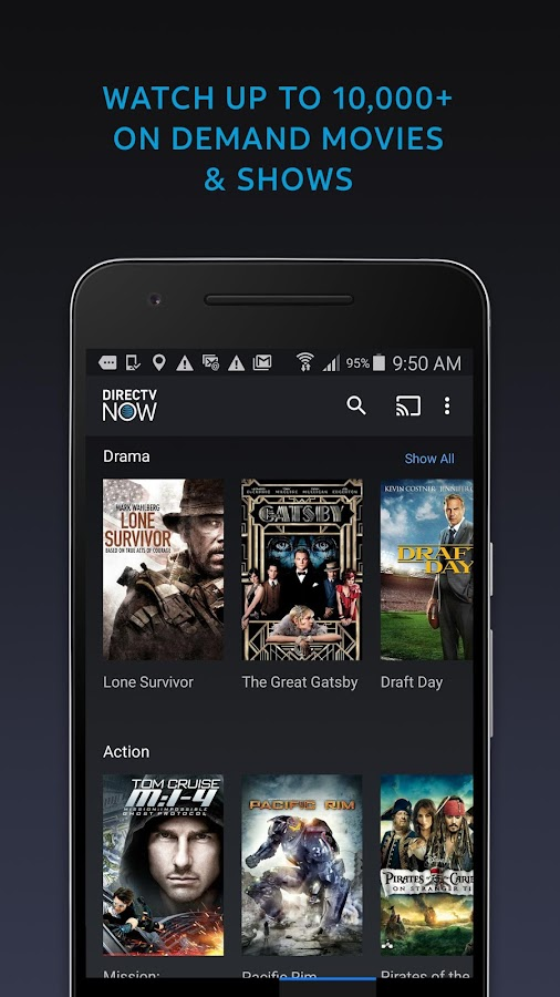 DIRECTV NOW℠- screenshot