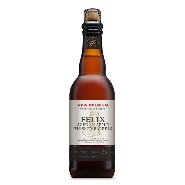 Logo of New Belgium Felix Aged In Apple Whiskey Barrels