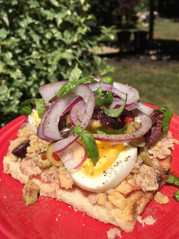 Maltese Tuna Tomato Sandwich Recipe
