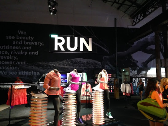 Nike Booth