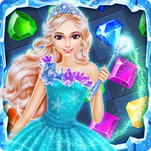 Ice Frozen Jewels Princess