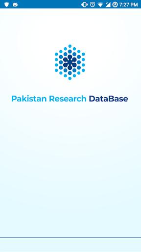 Pakistan Research Database screenshot 1