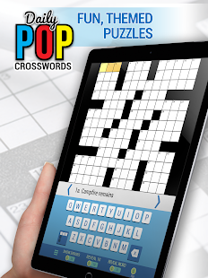 Daily POP Crosswords- screenshot thumbnail