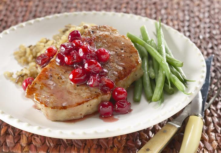 Autumn Glazed Pork Chops