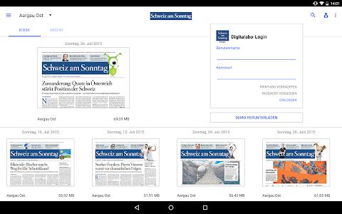 Schweiz am Sonntag - E-Paper screenshot 4