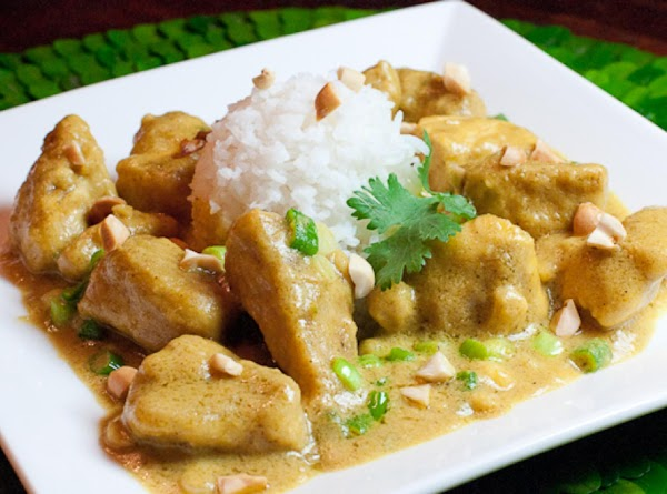Chicken With Peanut Curry Sauce Recipe