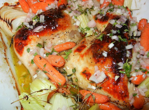Connie's Roasted Chicken With Honey & Thyme Recipe