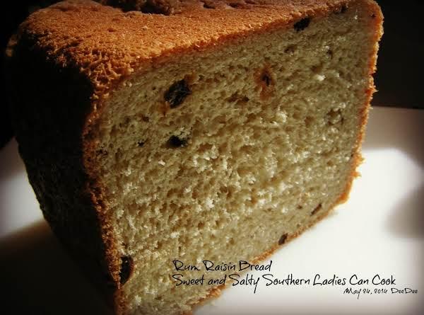 Rum Raisin Bread Recipe