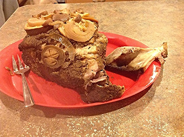 Once roast is fully cooked, allow to cool, remove the bone. I was able...