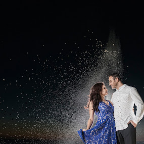 Souls as one by Yansen Setiawan - Wedding Other ( love, wedding, engagements, night shoot, engagement )