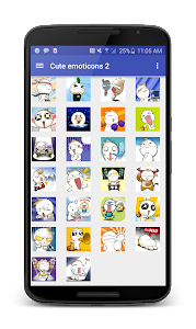 Funny emoticons screenshot 1