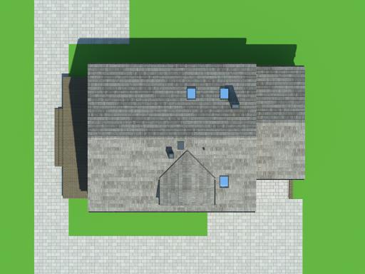 Osiek z garażem dw3 - Sytuacja