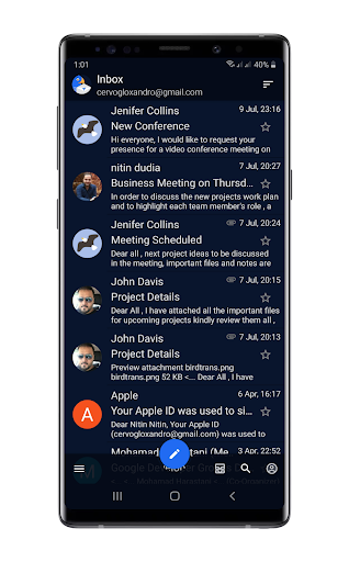Bird Mail Pro -Email App ss2