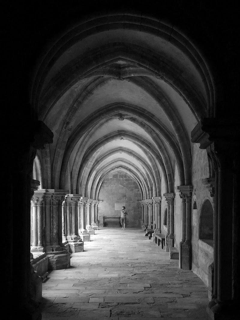 Chiostro della Cattedrale Vecchia di Coimbra, Portogallo di didatticarte