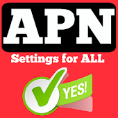 APN Settings for ALL