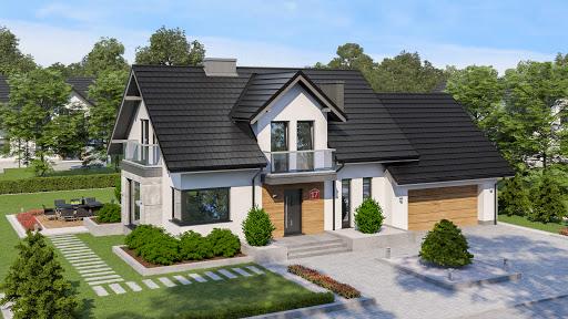 projekt Dom przy Modrzewiowej 17