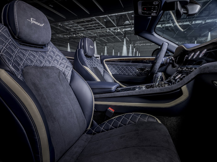 The interior reflects plushness and sportiness alike. Picture: SUPPLIED