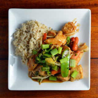 High Protein Asian Peanut Stir Fry