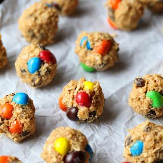 M&M's Granola Truffles