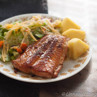 Pan Frying Salmon? Try this 15-minute Garlic Honey Salmon Recipe!.