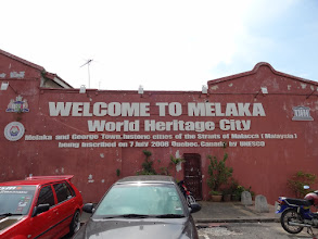 Photo: In my opinion, Malacca (as it's known in the West) is definitely worth a visit. By the way, I arrived in George Town today, the other city that is mentioned, today (Fri, 9th Dec).