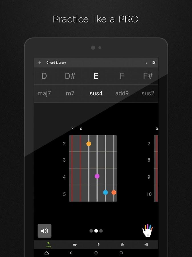 Screenshots of Guitar Tuner Free - GuitarTuna for iPhone